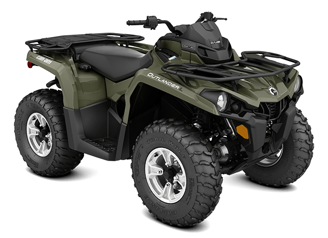 2016 Can-Am Outlander L DPS 450 in Shawano, Wisconsin