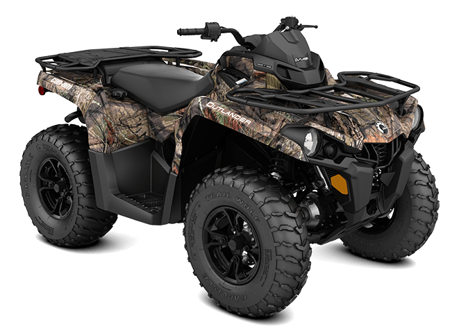 2016 Can-Am Outlander L DPS 450 in Roscoe, Illinois