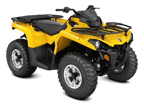 2016 Can-Am Outlander L DPS 450 in Massapequa, New York