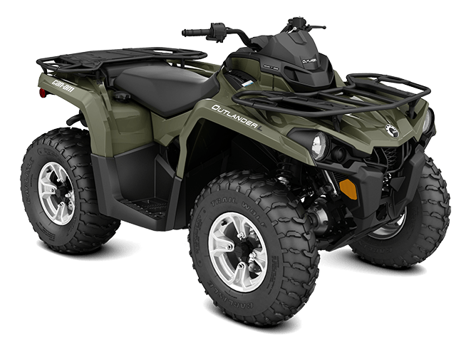 2016 Can-Am Outlander L DPS 570 in Grantville, Pennsylvania