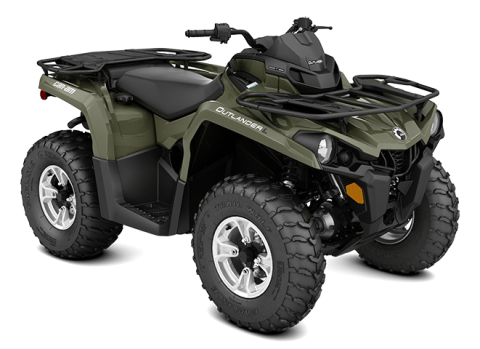 2016 Can-Am Outlander L DPS 570 in Shawano, Wisconsin