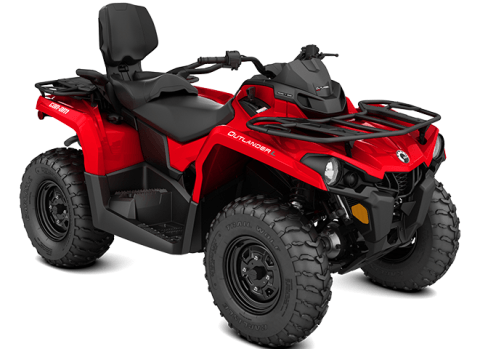 2016 Can-Am Outlander L MAX 450 in Roscoe, Illinois