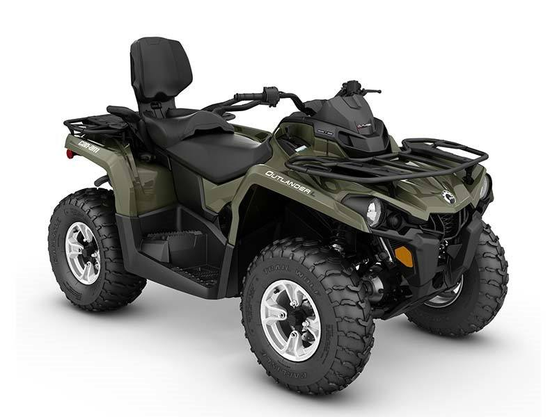 2016 Can-Am Outlander L MAX DPS 450 in Shawano, Wisconsin