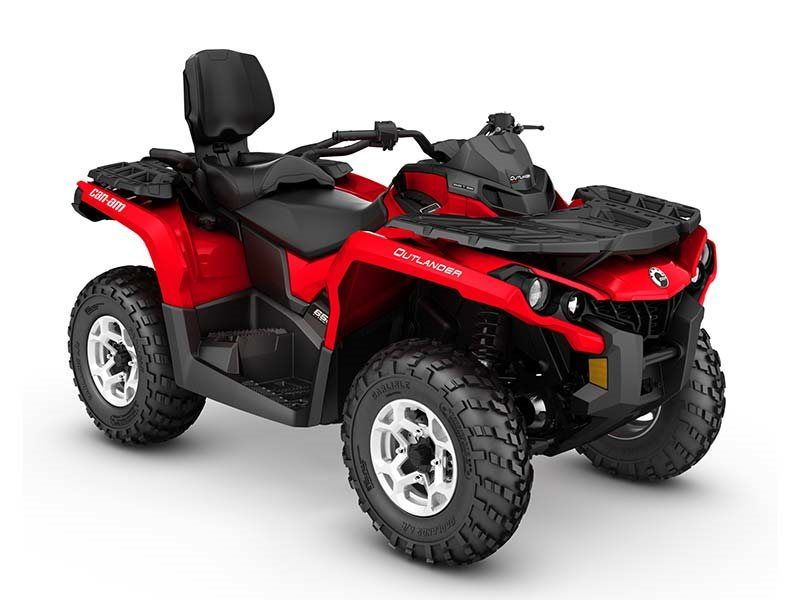 2016 Can-Am Outlander MAX DPS 650 in Grantville, Pennsylvania
