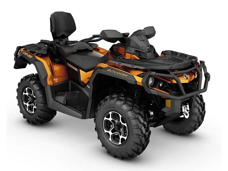 2016 Can-Am Outlander MAX Limited in Tyrone, Pennsylvania