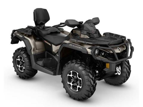 2016 Can-Am Outlander MAX Limited in Shawano, Wisconsin