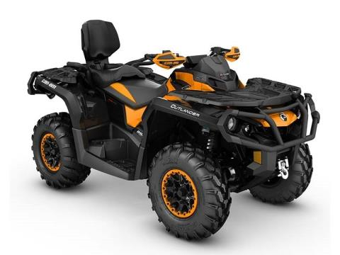 2016 Can-Am Outlander MAX XT-P 850 in Roscoe, Illinois