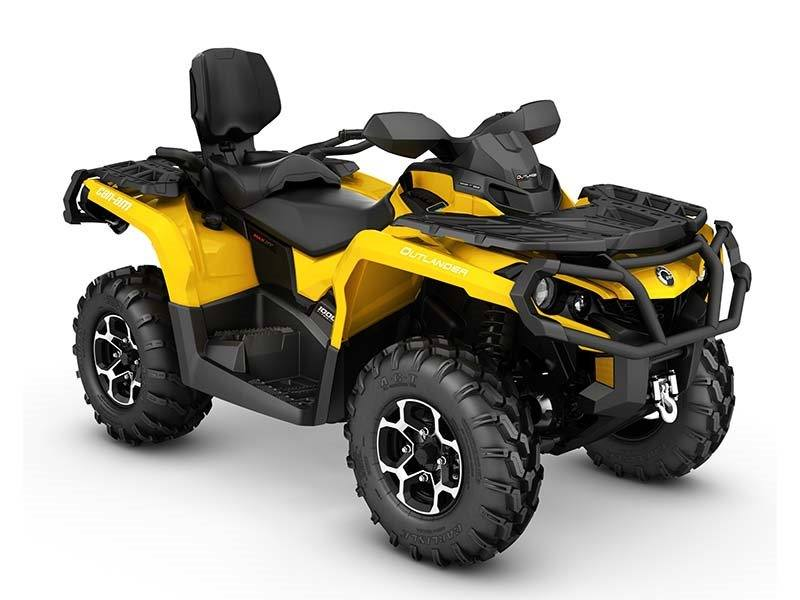 2016 Can-Am Outlander MAX XT 1000R in Roscoe, Illinois