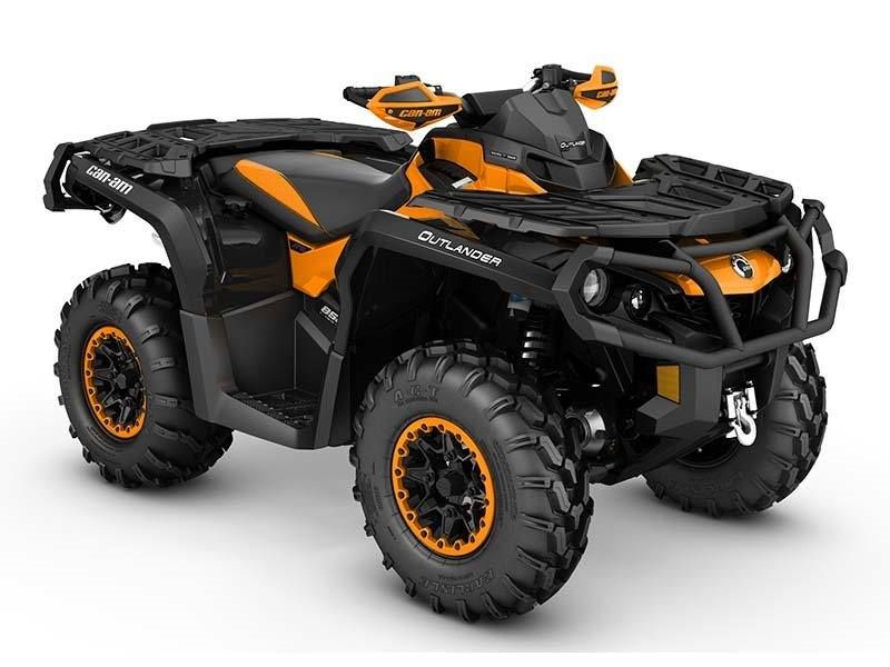 2016 Can-Am Outlander XT-P 850 in Kittanning, Pennsylvania