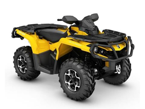2016 Can-Am Outlander XT 570 in Seiling, Oklahoma