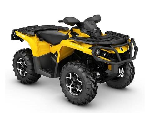 2016 Can-Am Outlander XT 650 in Detroit Lakes, Minnesota