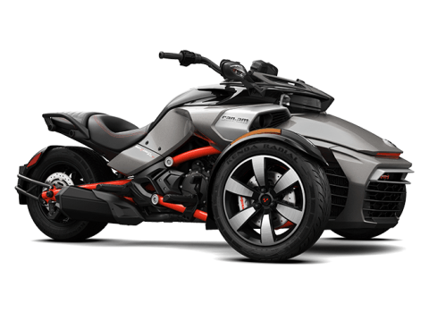 2016 Can-Am Spyder F3-S SM6 in Roscoe, Illinois