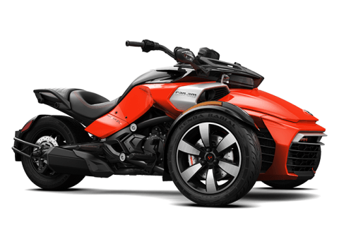 2016 Can-Am Spyder F3-S SM6 in Roscoe, Illinois - Photo 1