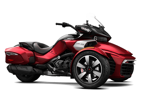 2016 Can-Am Spyder F3-T SE6 w/ Audio System in Waterloo, Iowa