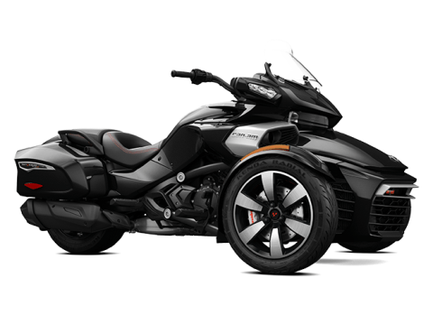 2016 Can-Am Spyder F3-T SE6 w/ Audio System in Huron, Ohio