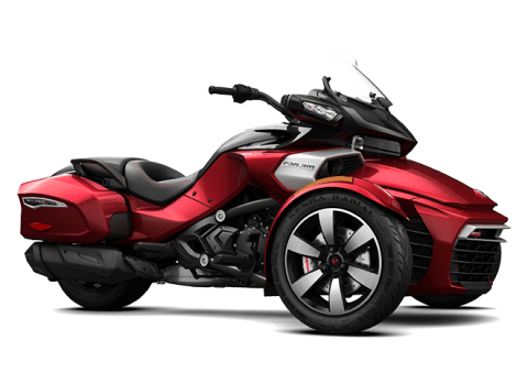 2016 Can-Am Spyder F3-T SM6 in Zulu, Indiana