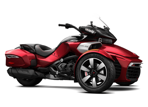 2016 Can-Am Spyder F3-T SM6 w/ Audio System in Zulu, Indiana