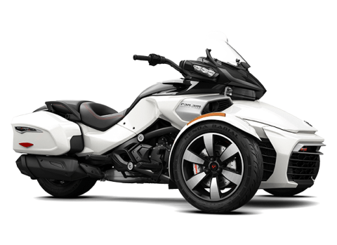2016 Can-Am Spyder F3-T SM6 w/ Audio System in Roscoe, Illinois