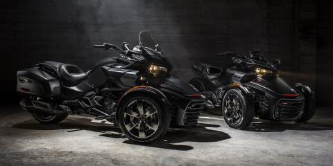 2016 Can-Am Spyder F3-T SM6 w/ Audio System in Kittanning, Pennsylvania