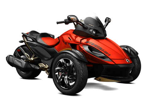 2016 Can-Am Spyder RS-S SM5 in Zulu, Indiana