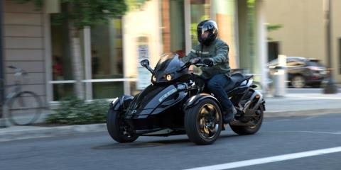 2016 Can-Am Spyder RS SM5 in Enfield, Connecticut