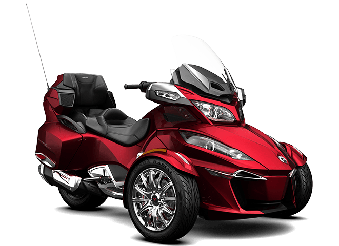 2016 Can-Am Spyder RT Limited in Roscoe, Illinois