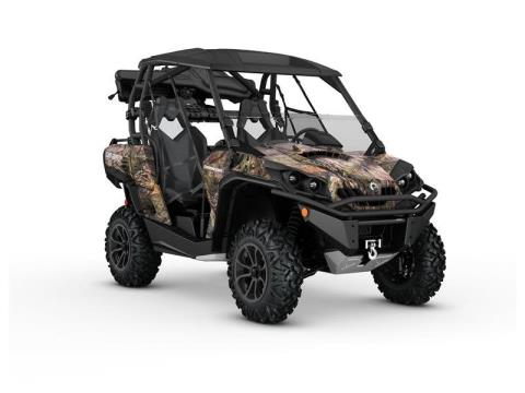 2016 Can-Am Commander Mossy Oak Hunting Edition 1000 in Roscoe, Illinois