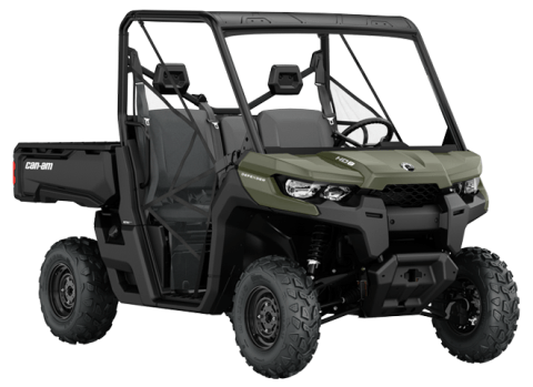 2016 Can-Am Defender HD8 Convenience in Roscoe, Illinois