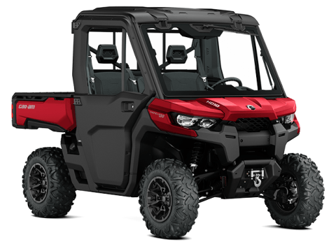 2016 Can-Am Defender XT CAB HD10 in Jesup, Georgia