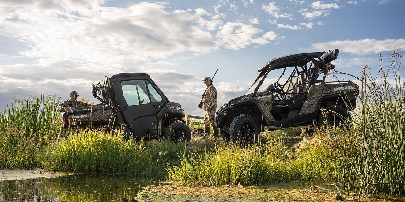 2016 Can-Am Defender XT CAB HD10 in Bozeman, Montana