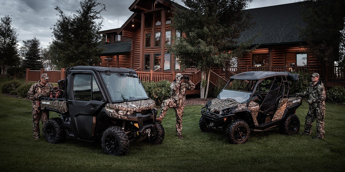 2016 Can-Am Defender XT CAB HD10 in Springville, Utah