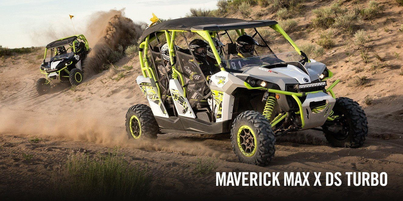 2016 Can-Am Maverick MAX DPS in Las Vegas, Nevada