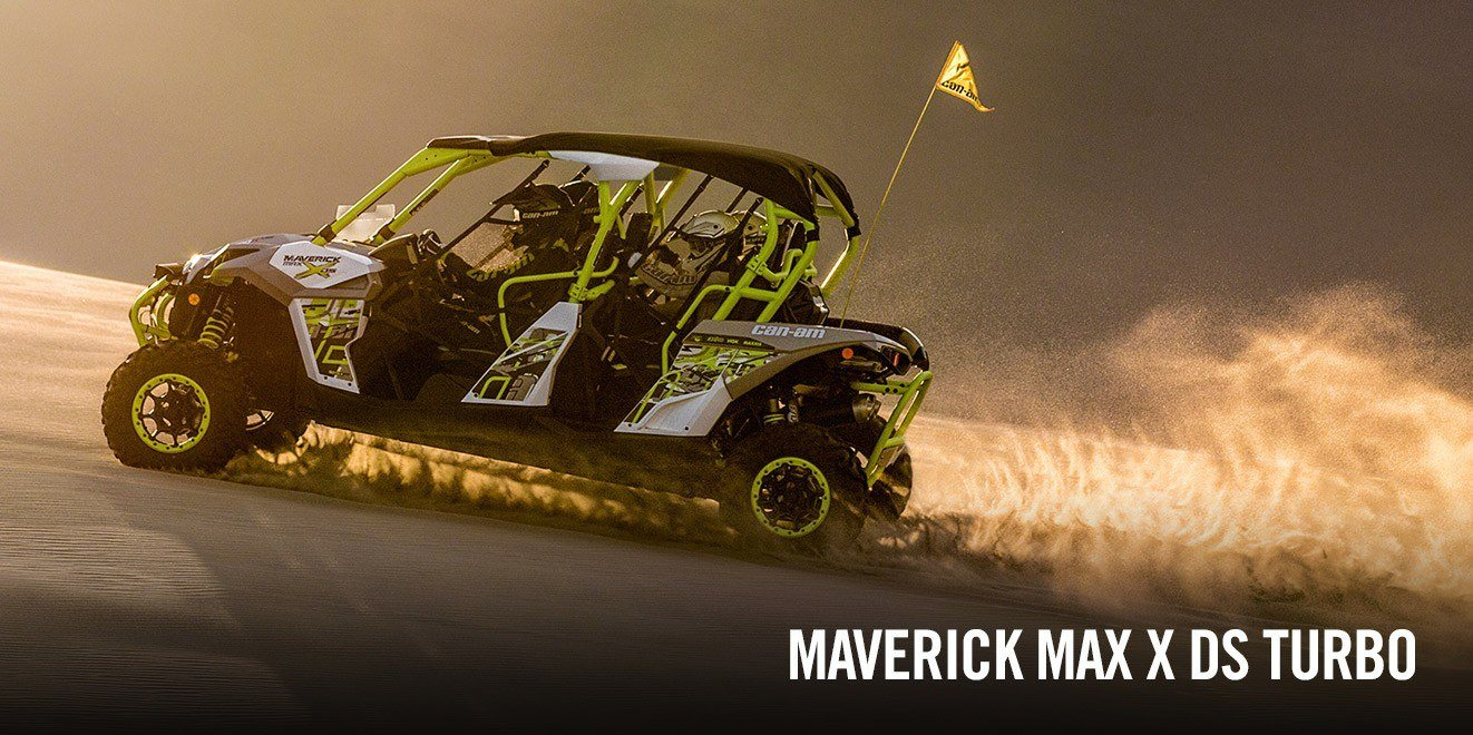 2016 Can-Am Maverick MAX DPS in Grantville, Pennsylvania