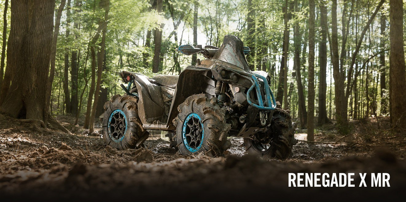2017 Can-Am Renegade X mr 570 in Brighton, Michigan