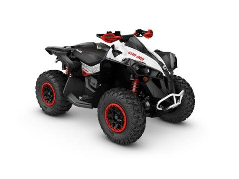 White / Black / Can-Am Red