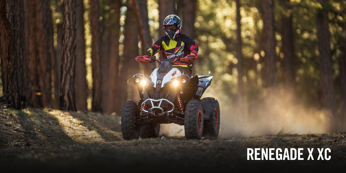 2017 Can-Am Renegade X xc 1000R in Hollister, California