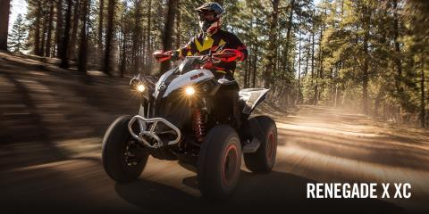 2017 Can-Am Renegade X xc 850 in Wasilla, Alaska