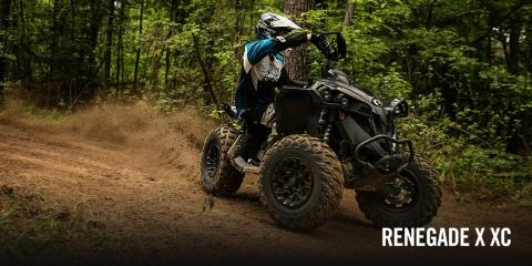 2017 Can-Am Renegade X xc 850 in Kittanning, Pennsylvania