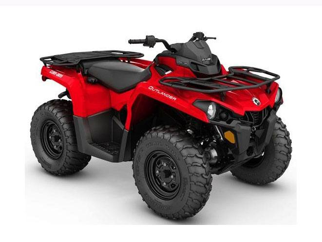 2017 Can-Am Outlander 450 in Jones, Oklahoma