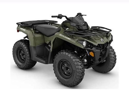 2017 Can-Am Outlander 570 in Presque Isle, Maine - Photo 2