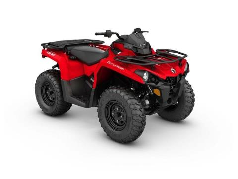 2017 Can-Am Outlander 570 in Baldwin, Michigan