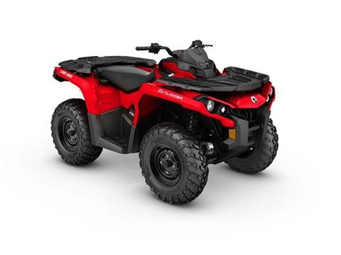 2017 Can-Am Outlander 650 in Land O Lakes, Wisconsin