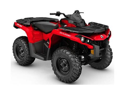 2017 Can-Am Outlander 650 in Springfield, Ohio