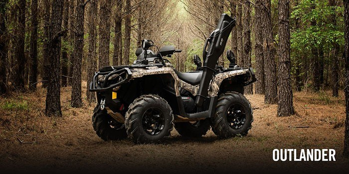 2017 Can-Am Outlander DPS 450 in Enfield, Connecticut