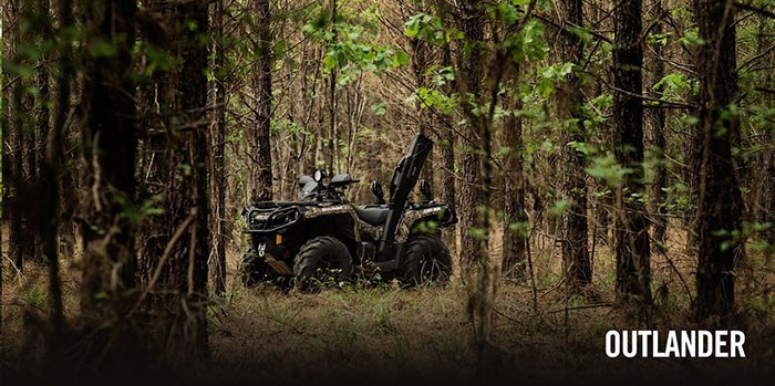 2017 Can-Am Outlander DPS 450 in Conroe, Texas
