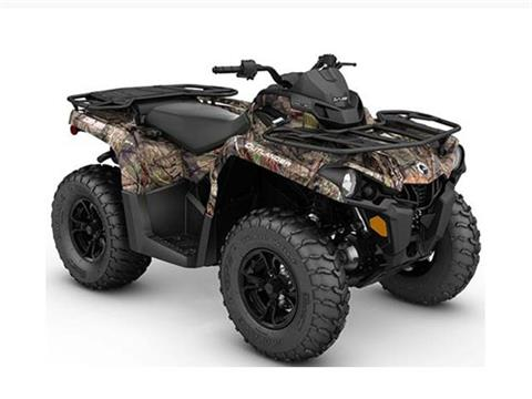 2017 Can-Am Outlander DPS 450 in Albemarle, North Carolina