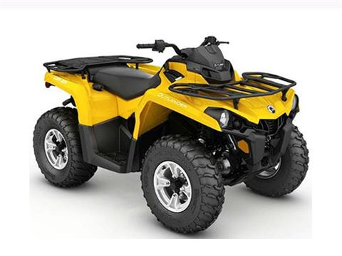 2017 Can-Am Outlander DPS 450 in Waterbury, Connecticut