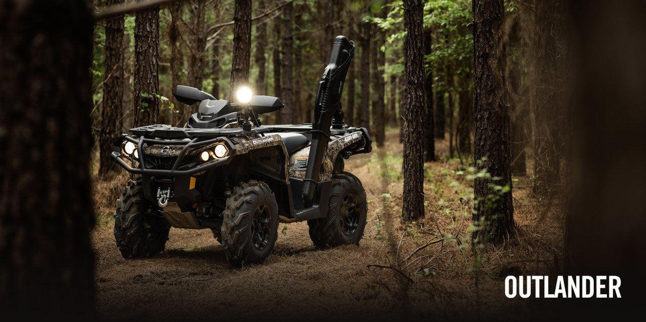 2017 Can-Am Outlander DPS 570 in Garberville, California
