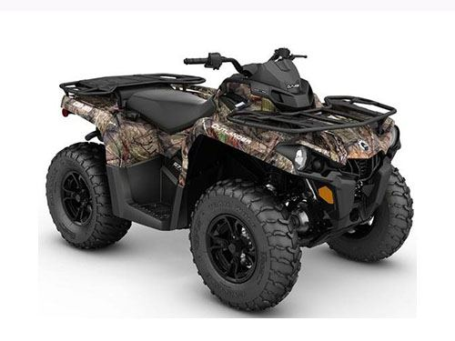 2017 Can-Am Outlander DPS 570 in Oakdale, New York