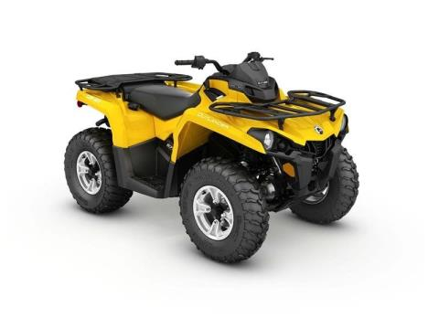 2017 Can-Am Outlander DPS 570 in Colebrook, New Hampshire